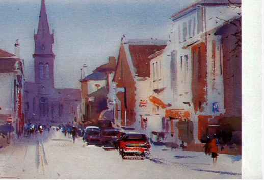 Watercolor Townscapes