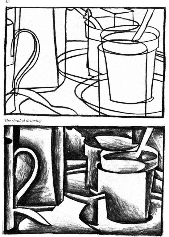 Tonal Drawing Composition