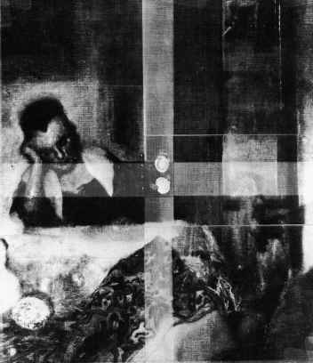 Girl Asleep Vermeer Xray