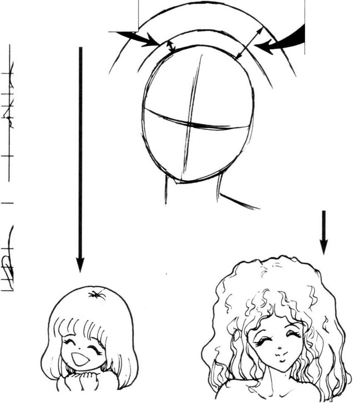 Anime short hair