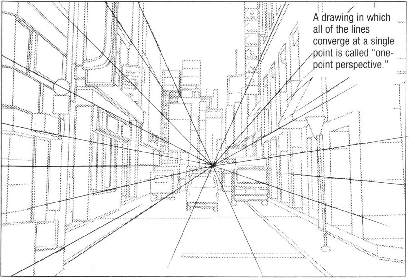 Drawing Vertical Lines In Html : Three point perspective buildings draw manga joshua