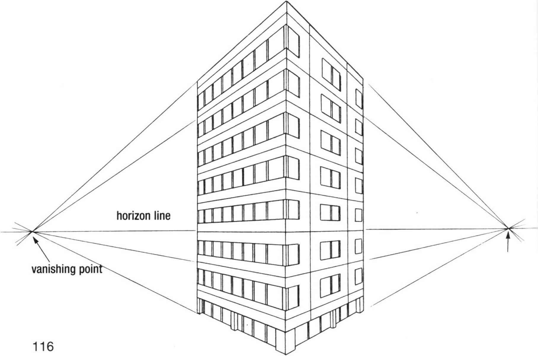 Three Point Perspective Buildings Draw Manga Joshua Nava Arts