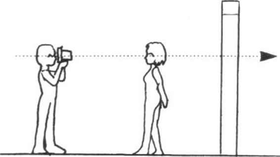 Person Holding Camera Cartoon