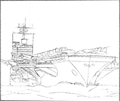 Aircraft Perspective Sketches Examples