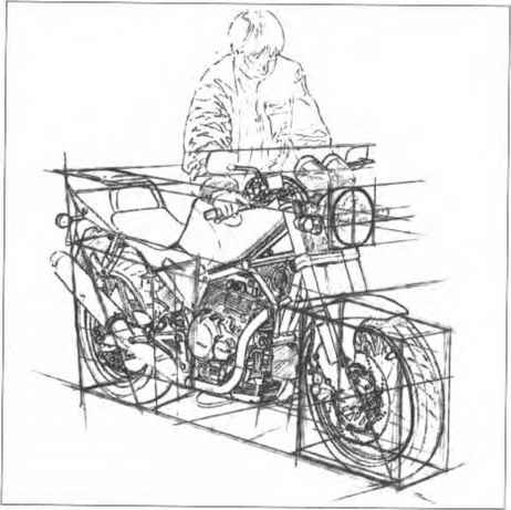 How Drawing Motorcycle
