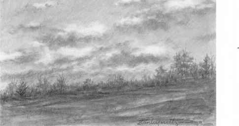 How To Draw Clouds In Pencil