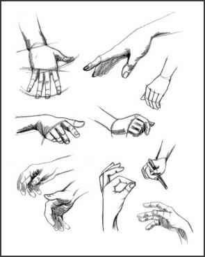 How Draw Hand