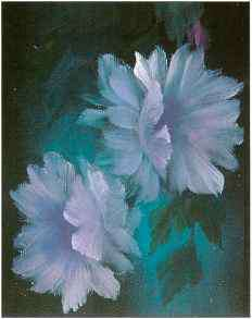 Oil Painting Night Blooming Cereus