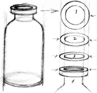 Drawing Cylinder And Eye Level