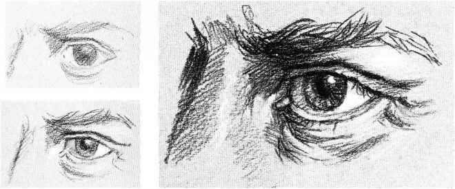 Drawing pencil drawings eyes