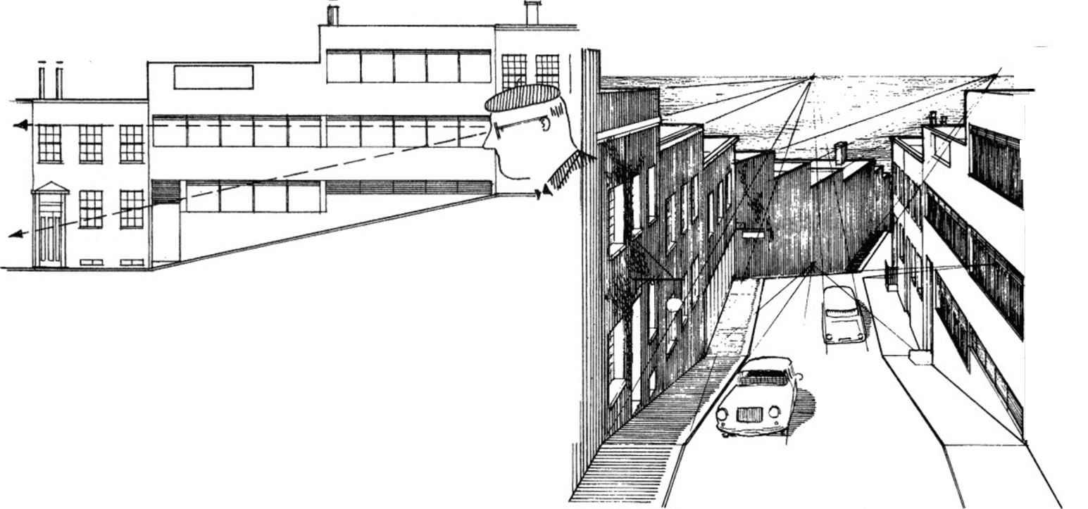 Foreshortened Cylinder - Perspective Drawing - Joshua Nava Arts