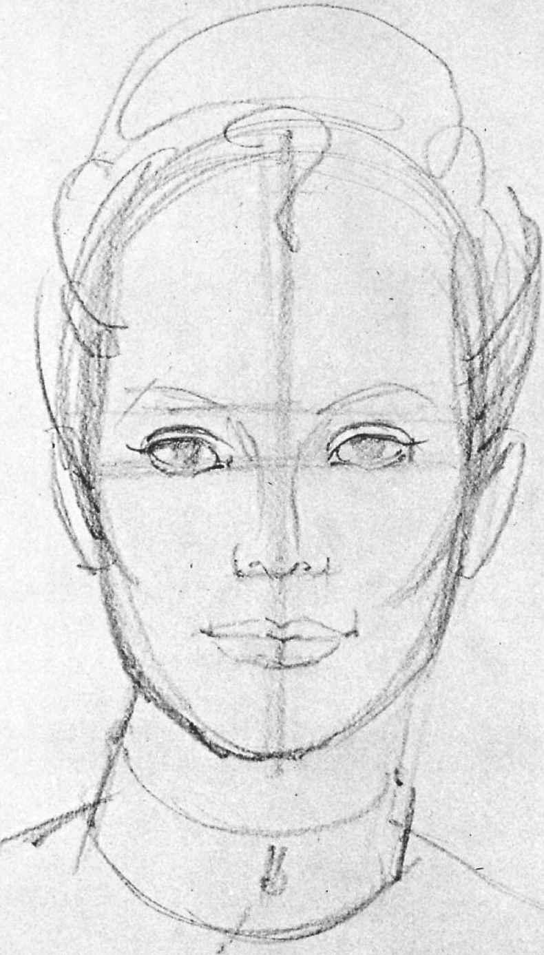Line Drawing Human Face : Human face sketches portrait drawing joshua nava arts