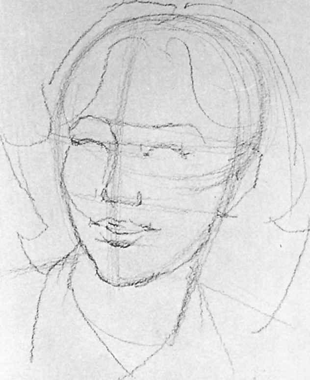 Contour Line Drawing Algorithm : Line drawing portrait artists gallery