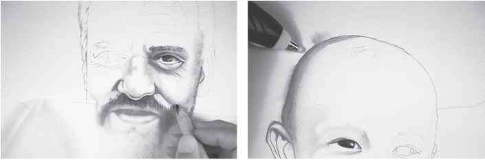 Face Drawing Shading
