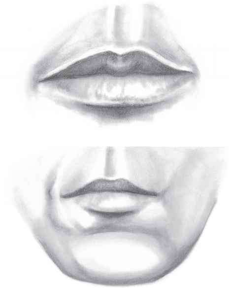 how to avoid drawing mouths