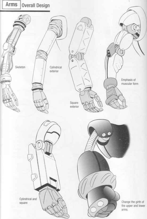 pics for gt robot leg drawing