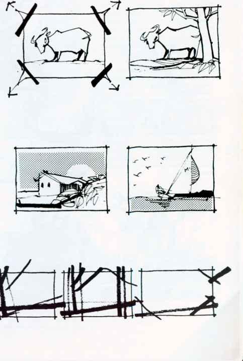 Framing - Sketching - Joshua Nava Arts