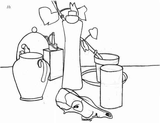 Line Drawing Still Life : Images about art line on pinterest contour