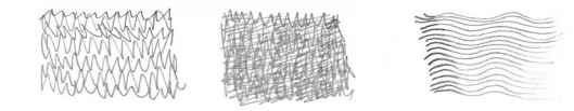 Wavy Pattern Pencil Sketch