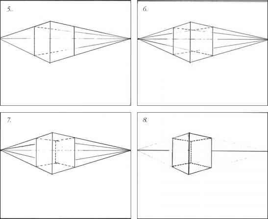 Drawing Lines In Processing : Twopoint perspective drawing techniques joshua nava arts