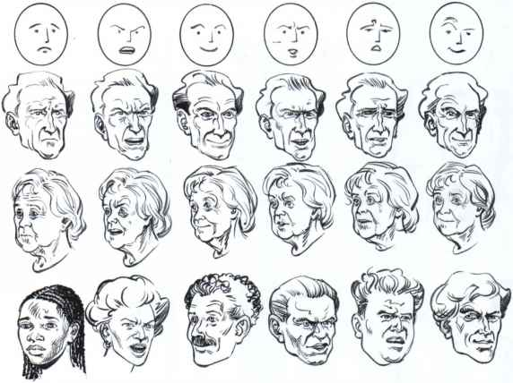 Drawing Facial Expressions