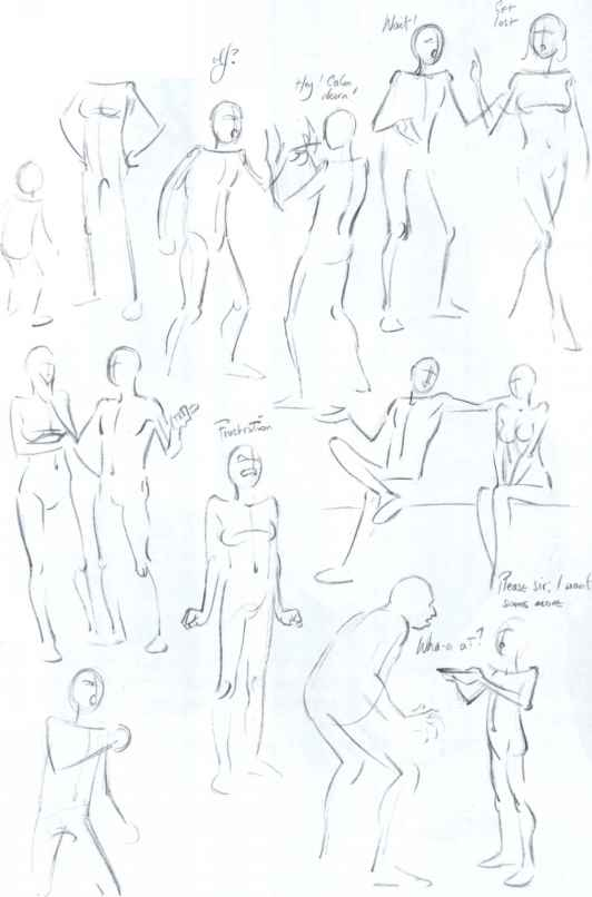 Drawing Body Positions